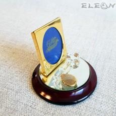 Позлатена рамка за снимка с орнамент ЛЮБОВЕН ЧЛЮЧ, Golden Memories