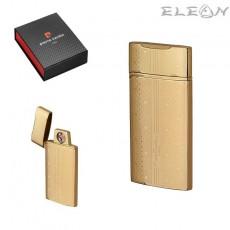 Запалка със сърца, USB зареждане, златна