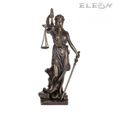 Статуетка Темида изработена от полирезин - малка