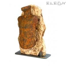 Статуетка каменен МЪЖКИ ТОРС 158, скулптура от металокерамика, 35см