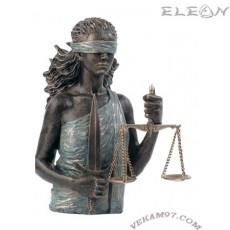 Статуетка ТЕМИДА 189,  скулптура от металокерамика, 33см