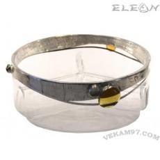 Стъклена Фруктиера 3 секторна - 19160-P