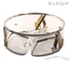 Стъклена Фруктиера със седеф - 19160S