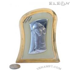 икона сребро Исус Христос - 9348