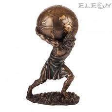 Статуетка Атлас с кутийка глобус 29см