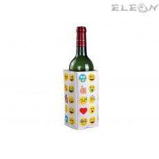 Забавен охладител за бутилки - ЕМОТИКОНИ - Vin Bouquet