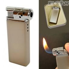 Промоция Запалка за лула, многократно зареждане, газ, цвят хром, Wild Fire 817490 - piezo