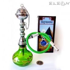 Наргиле с 1 маркуч 20см, зелен цвят, мини наргиле 0308502