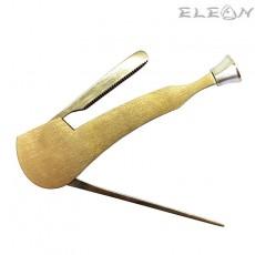 Инструмент за почистване на лула 3в1, цвят хром, Don Gustavo 032059