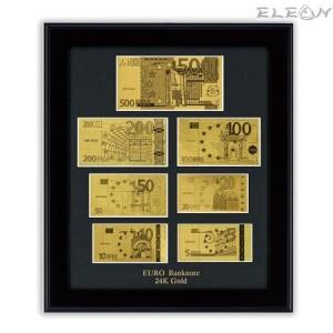 подарък Колекция Златни Банкноти Евро ORH6 - 24 карата