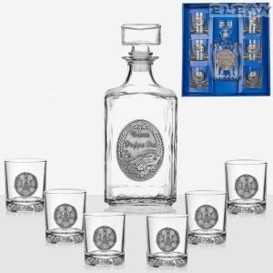 подарък Сет уиски 7 части