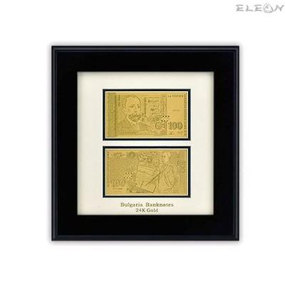 подарък Златна Банкнота Лев ORH15 - 24 карата