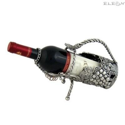 подарък Стойка за вино изработена от пютър WS164