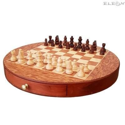 подарък ШАХ магнитен с дървени фигури и дървена дъска - 112