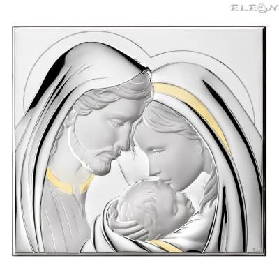 подарък Икона Свето Семейство, голяма сребърна икона