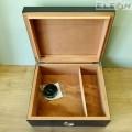 Кутия за пури ANGELO - Хумидор 920840, карбон