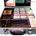 Покер чипове без номинал, професионален XXL сет 600 чипа