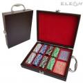 Покер чипове с тестета карти