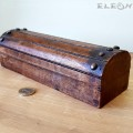 Антична дървена кутия за бюро