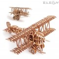 3D пъзел Самолет 28см