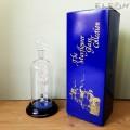 Стъклена бутилка за алкохол с Балерина и позлата - 350мл