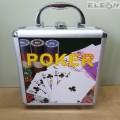 Покер сет в алуминиево куфарче, 100 чипа casino size, SZ2824