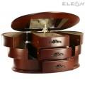 Музикална кутия за бижута изработена от дърво