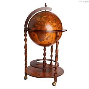 подарък Античен глобус бар за алкохол, в италиански стил - 75см DM-TE-33/3