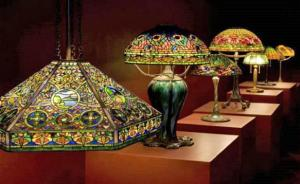 Лампи Тифани / Tiffany - изкуство достъпно за всеки дом